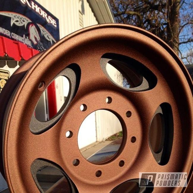 Powder Coating: Wheels,Black,Lite Copper Cast PCB-2512,Copper