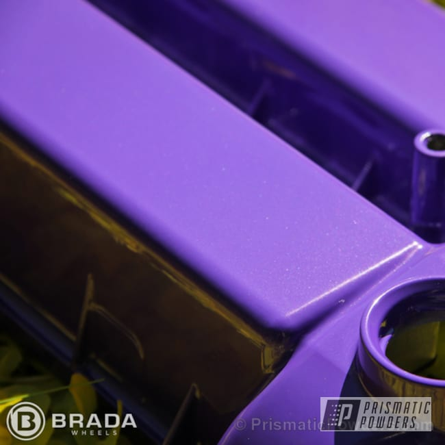 Powder Coating: Automotive,MazdaSpeed3,POLAR FROSTY PURPLE UMB-2108,powder coated,purple,Valve Cover