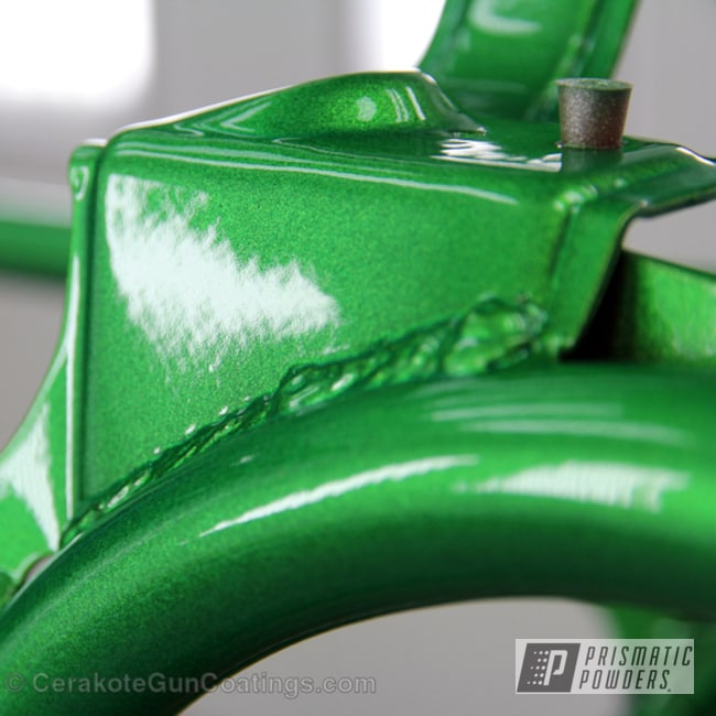 Powder Coating: Illusion Lime Time PMB-6918,Clear Vision PPS-2974,Off-Road