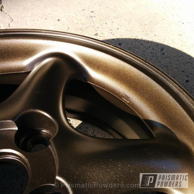 Powder Coating: Wheels,TRIPLE BRONZE UMB-4548