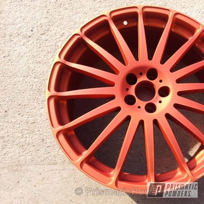 Powder Coating: Wheels,copper,Illusion Copper PMS-4622,Clear Vision PPS-2974,Custom 2 Coats,Casper Clear PPS-4005