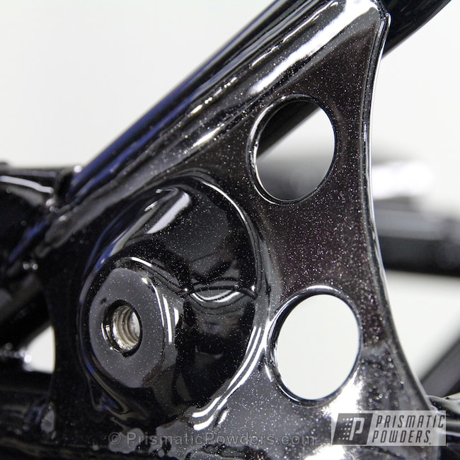 Powder Coating: Clear Vision PPS-2974,Off-Road,Spiced Black PMB-4430