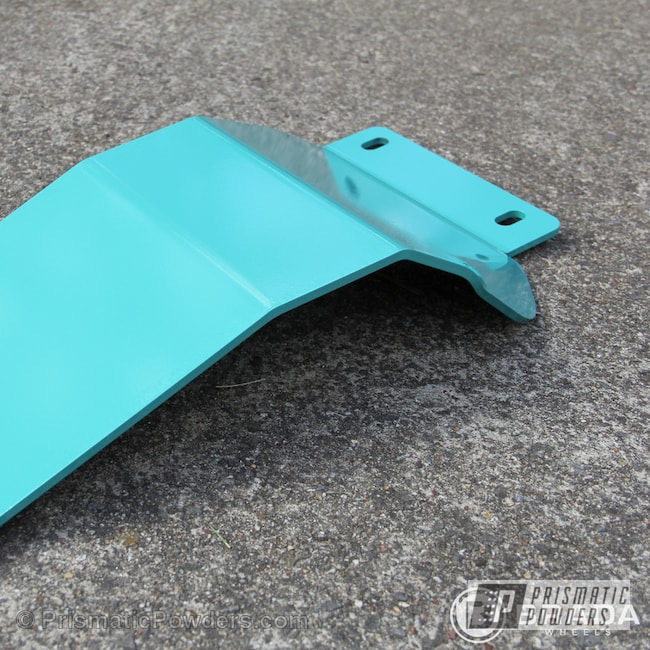 Powder Coating: Automotive,Poseidon Green PSS-3047,BDS Lift Kit components