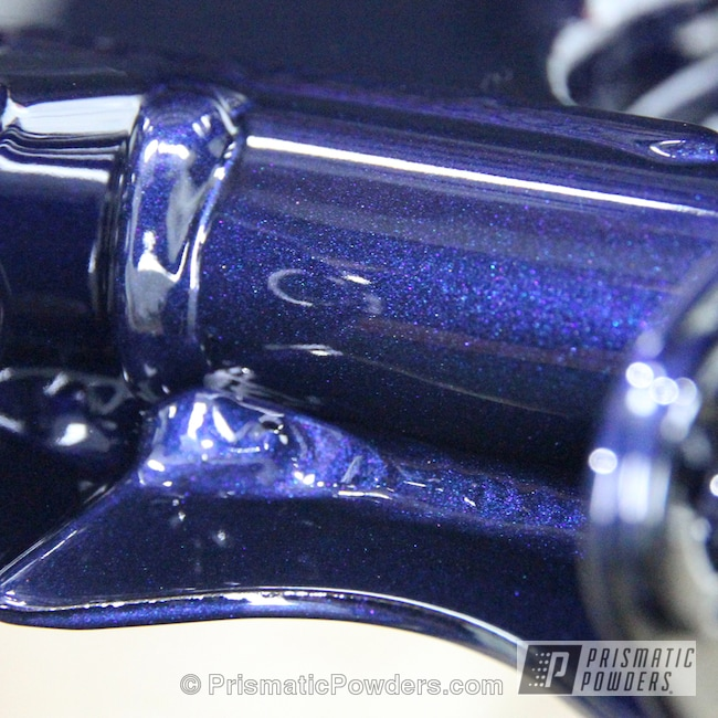 Powder Coating: Misty Wave Blue PMB-2051