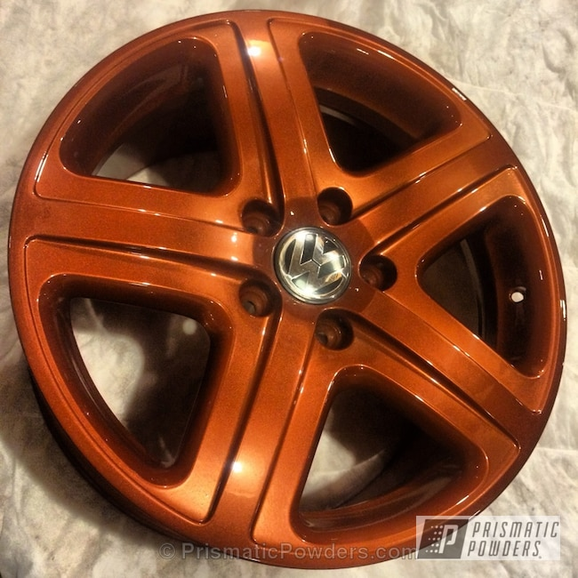 Powder Coating: Wheels,Touareg Wheels,SUPER CHROME USS-4482,chrome,Rust Glaze PPB-5539