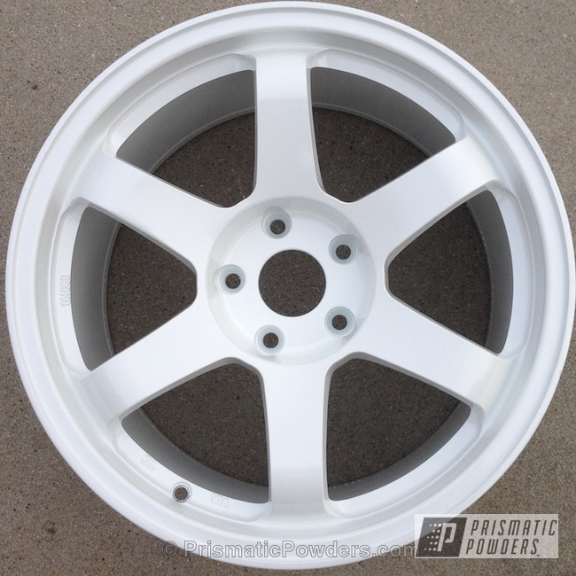 Wheels Done In Iced White