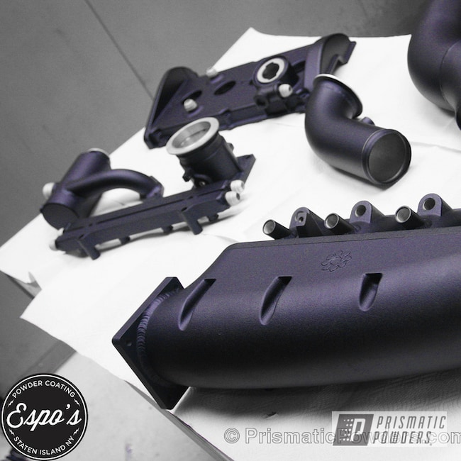 Powder Coating: Automotive,1000HP 1,8t GTI,Plum Cast PCB-1106