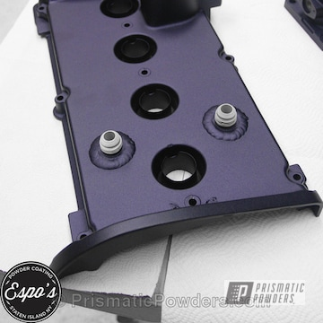 Engine Components In Plum Cast