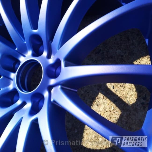 Powder Coating: Wheels,chrome,Super Chrome USS-4482,Lollypop Blue UPS-2502,BMW,Casper Clear PPS-4005
