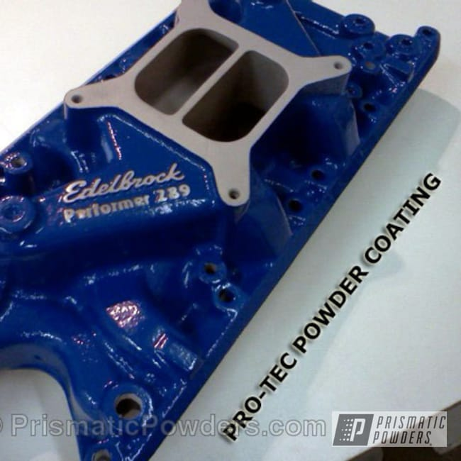Powder Coating: Automotive,RAL 5017 Traffic Blue,Blue,Ford Intake