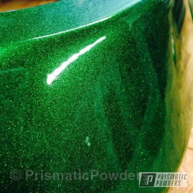 Powder Coating: Automotive,Illusion Green PMS-4516