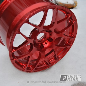 Base Super Chrome Mid Rancher Red Top Clear Vision