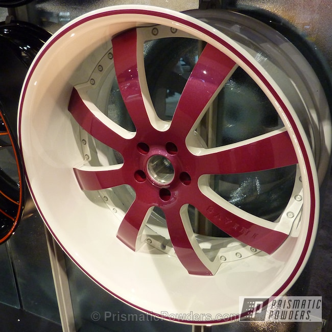 Powder Coating: Wheels,Raspberry Wheels,SPICY BERRY UPB-2950