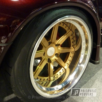 Wheels Done In Prismatic Gold