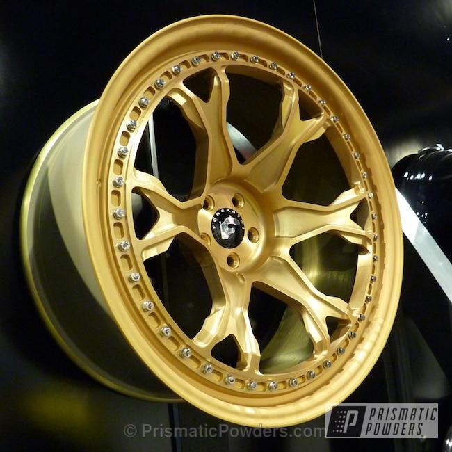 Powder Coating: Wheels,Extruded Brass PPB-6404