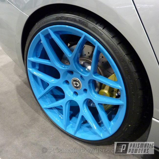 Powder Coating: Wheels,Blue wheels,Playboy Blue PSS-1715