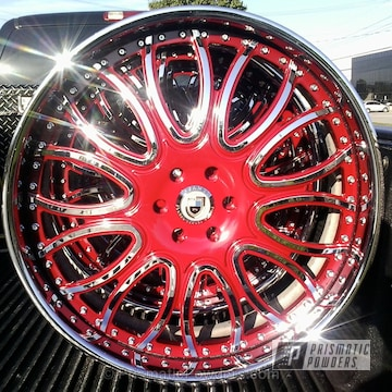 Rexford Red With Clear Vision Top Coat