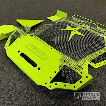 Powder Coated Grey Polaris Rzr Grille