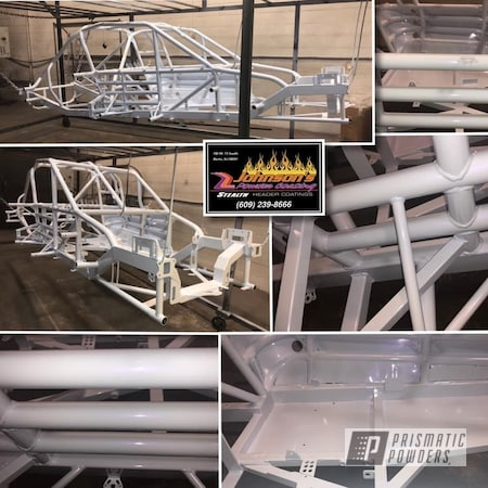 Powder Coating: Automotive,Frame,PEARLIZED VIOLET UMB-1536