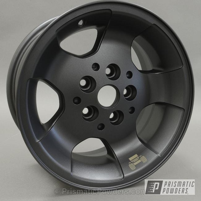 Powder Coating: Wheels,STERLING BLACK UMB-1204,Jeep Wheels powder coated