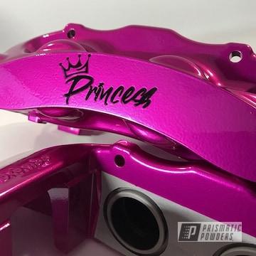 Powder Coated Pink Custom Auto Parts