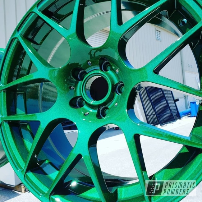 Powder Coating: Wheels,Automotive,Clear Vision PPS-2974,Custom Wheels,Illusion Gambler PMB-6916