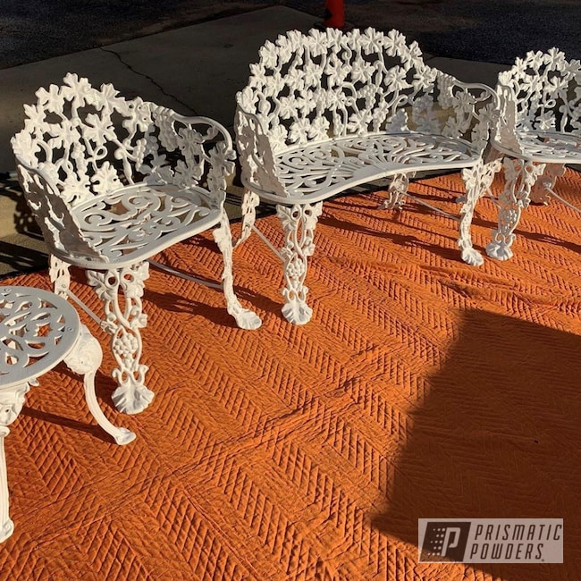 Powder Coating: Chairs,Patio Furniture,Outdoor Furniture,Vintage Lawn Furniture,Decorative Furniture,Box White PSS-4320,Outdoor,lawn furniture,patio,Furniture