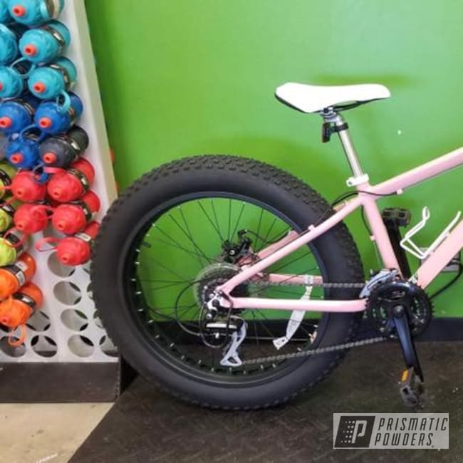 Powder Coating: Bicycles,Pretty Pink PSS-4479,Bicycle Frame