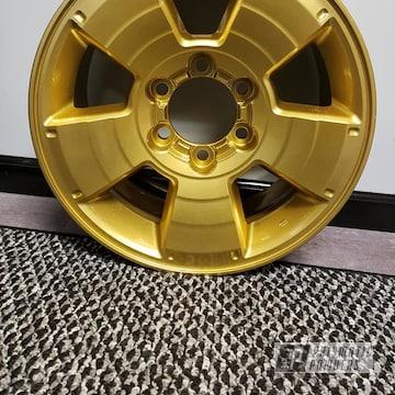 Powder Coated Gold Rim
