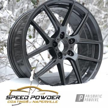 Powder Coated Grey Custom Rim