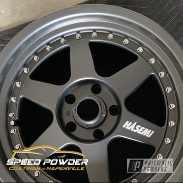 Powder Coated Grey 2 Piece Ssr Hasemi Wheels