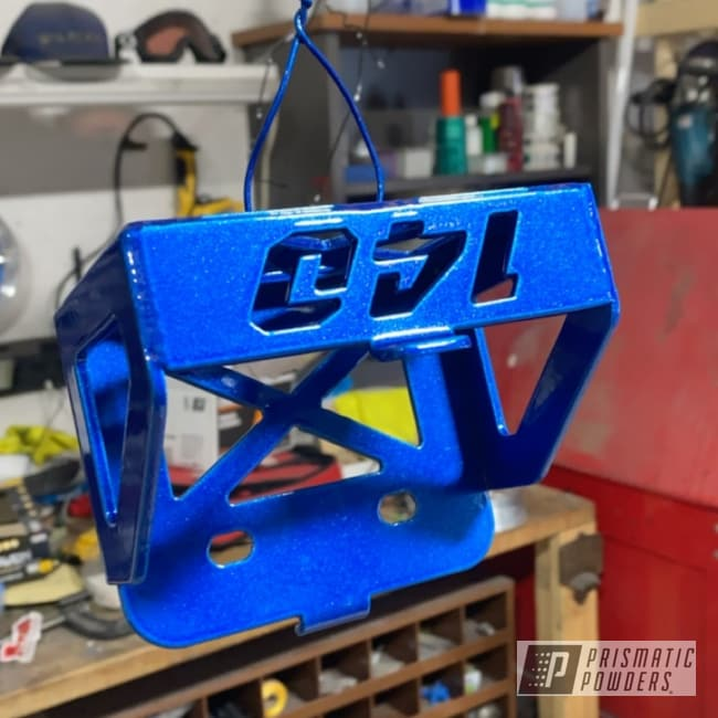 Powder Coating: Booty Blue PPB-2757,Automotive,ATV,ATC70,Acura Silver PMB-6558,Honda,144