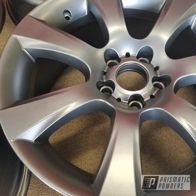"Powder Coating: Wheels,Automotive,Evo Grey PMB-5969,18"",Aluminium Rims,18"" Aluminum Wheels"