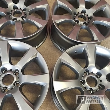 Powder Coated Grey Set Of 18 Inch Rims