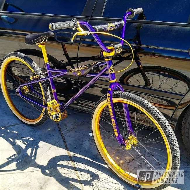 Powder Coating: Illusion Purple PSB-4629,Bicycles,Clear Vision PPS-2974,Two Tone