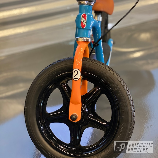 Powder Coating: Illusion Orange Cherry PMB-5509,Bicycles,Clear Vision PPS-2974,Ink Black PSS-0106,Bike,RAL 6019 Pastel Green,RAL 2003 Pastel Orange,RAL 5012 Light Blue,Bicycle Frame