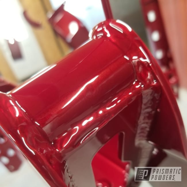 Powder Coating: Silverado,Automotive,LOLLYPOP RED UPS-1506,Toreador Red PMB-2753,Lift Kit,Chevy,Automotive Parts