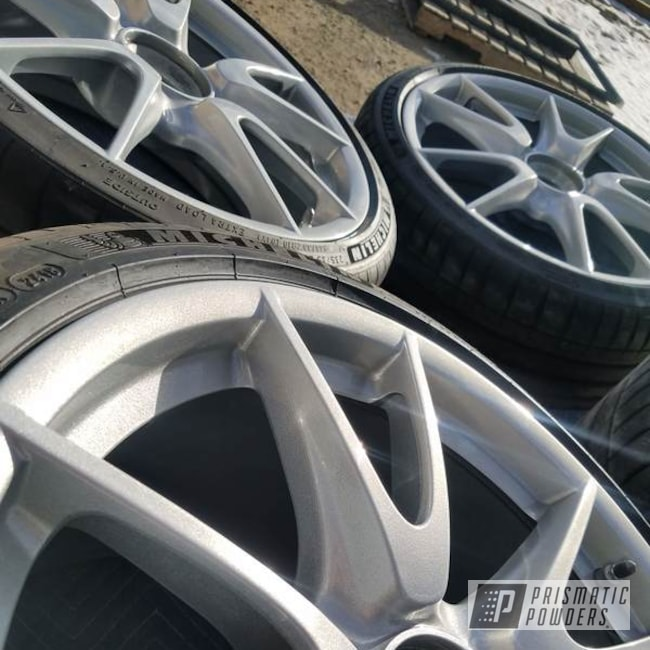 Powder Coated Silver Rockin Rims