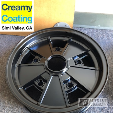 Powder Coated Black Beetle Volkswagen Rim