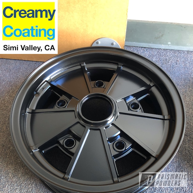Powder Coating: Wheels,Automotive,Stone Black PSS-1168,Aluminum Rims,Powder Coated Beetle Wheels,Automotive Rims,Beetle,Powder coated VW wheels,Automotive Parts,Powder Coated Volkswagon Wheel,Powder Coated VW Wheel,Volkswagen,VW,Powder Coated Volkswagon Wheels