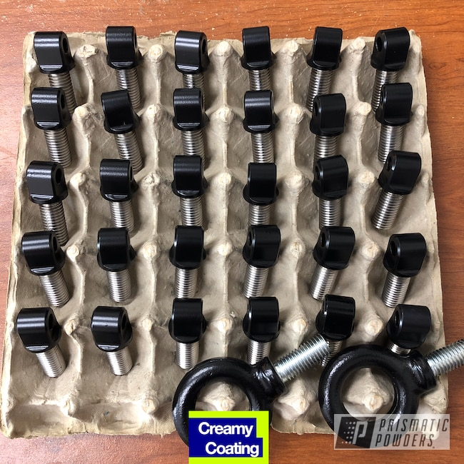 Powder Coating: Automotive,Stone Black PSS-1168,Racing,Automotive Parts