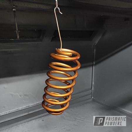 Powder Coating: Automotive,Transparent Copper PPS-5162,Coil Spring,Car