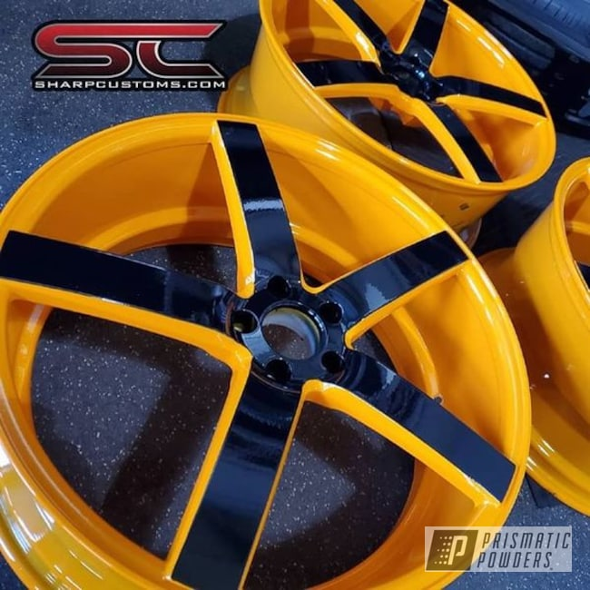 Powder Coating: Wheels,Automotive,Juju Orange PSS-1791