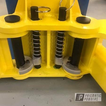 Powder Coating: Auto Lift,JPM Yellow PMB-4847,Miscellaneous