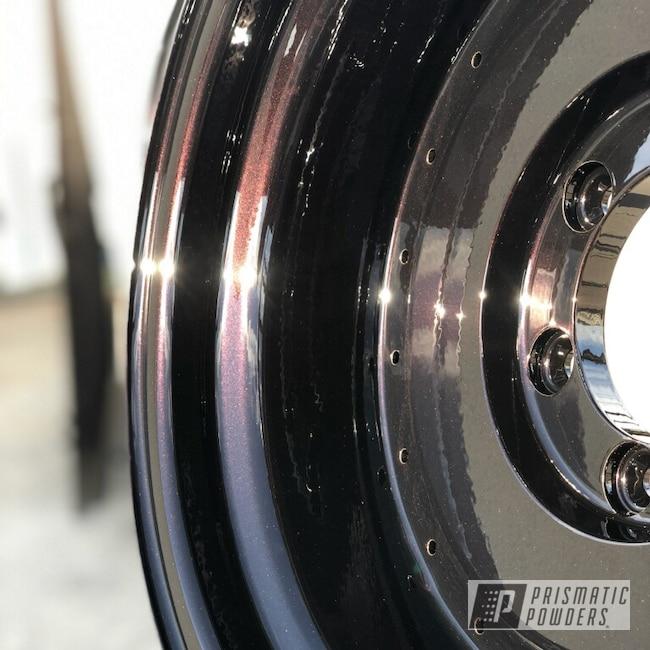 Powder Coating: Wheels,Iced Black Cherry PMB-2323,Automotive