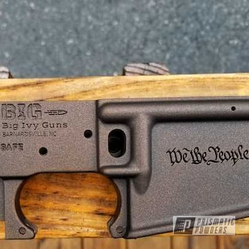 Powder Coated Bronze Ar Lower Receiver