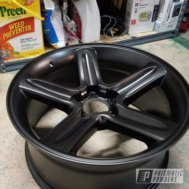 Powder Coating: HALLISTER BRONZE UMB-6536,Wheels,Automotive