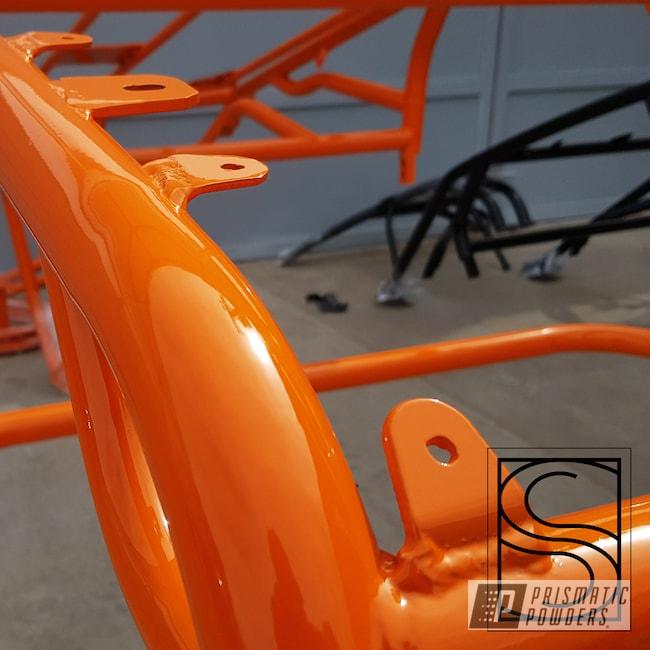 Powder Coating: Automotive,ATV,Polaris,RZR,Bright Orange PSS-0879