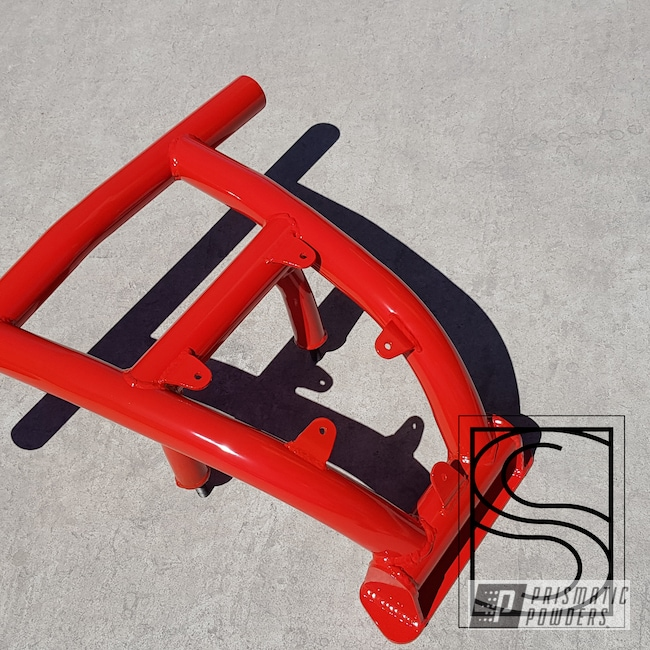 Powder Coating: Automotive,Polaris,RZR,RAL 3020 RAL-3020,Front Bumper