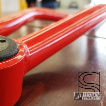 Powder Coated Red Jeep Suspension Parts